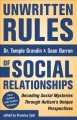 Go to record Unwritten rules of social relationships : decoding social ...