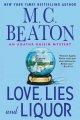 Go to record Love, lies, and liquor : an Agatha Raisin mystery
