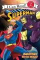 Go to record Superman versus Mongul