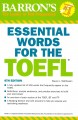 Go to record Barron's essential words for the TOEFL : Test of English a...