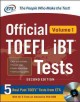 Go to record Official TOEFL iBT tests. Volume 1.